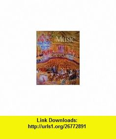 Music an appreciation w multimedia companion 45 cd rom an appreciation music fourth brief edition student edition roger kamien fandeluxe Choice Image
