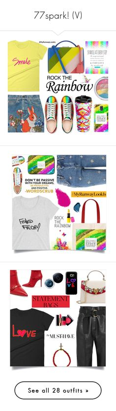 """""""77spark! (V)"""" by samra-bv on Polyvore featuring Gucci, Mark Cross, Topshop, Bobbi Brown Cosmetics, NARS Cosmetics, Barry M, Petar Petrov, Gianvito Rossi, Shiseido and Chanel"""