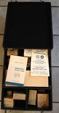 Cold-War Vietnam Original 1962 Fallout Shelter Medical Kit Civil Defense Issue