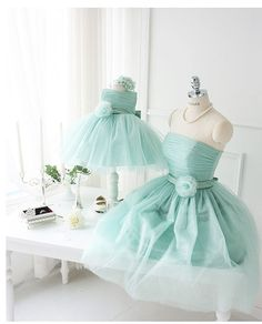 Matching gowns for you and your daughter