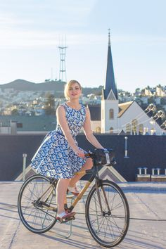 Bike-Pretty9 Trusted Fashion Tips to Help You Ride Your Bike in Style | Story by ModCloth