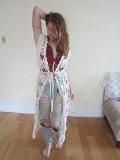 Hey, I found this really awesome Etsy listing at https://www.etsy.com/listing/254588366/crochet-maxi-vest-festival-clothing-maxi