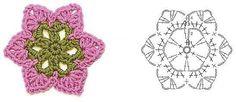 Crochet flower