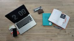My desk today - I love how I am able to create my own journal and action-planner. Empowering!!