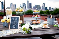 rustic Buffet table idea    {After Yes}