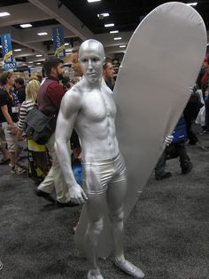 Costumes at Comic-Con 2012 by Lbc42, via Flickr - Excellent Silver Surfer…