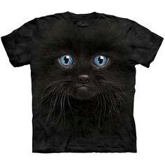 Black Cat The Mountain Tee #Halloween