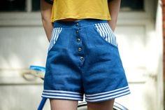 Lalouka #denim #shorts