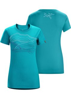 Robson T-Shirt Women's Women's cotton T-shirt with a printed Mount Robson graphic.