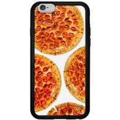 Pizza iPhone 6/6s Case (130 MYR) ❤ liked on Polyvore featuring accessories and tech accessories