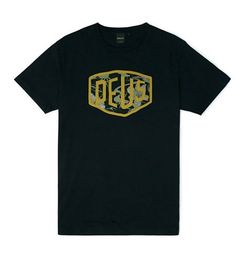 Deus Aloha Shield Tee Black