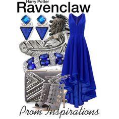 Ravenclaw - Prom Inspirations (I love the dress!)