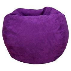Bean Bag Chair - Purple - Reservation Seating