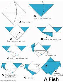 As Duas Crafts: Sexta Criativa: origamis para o Dia das Crianças