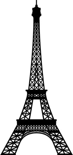 Extra Large Eiffel Tower Vinyl Wall Decal by Vinyltastic on Etsy, $65.00