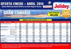 Oferta Enero - Abril a Gran Canaria 7 noches desde 427 euros Tax incl.Salidas desde Svq con UX ultimo minuto - http://zocotours.com/oferta-enero-abril-a-gran-canaria-7-noches-desde-427-euros-tax-incl-salidas-desde-svq-con-ux-ultimo-minuto/