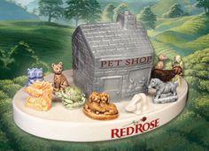 "Red Rose Tea Wade Figurine ""Pet Shop"" Complete Series 2006 ~ 2008"