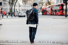 Street looks homme à Londres