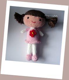 Sara, Lara and Sophie dolls - free crochet patterns
