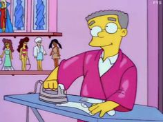 smithers /the simpsons Simpson Tv, Homer Simpson, Lisa Simpson, The Simpsons Show, Simpsons Funny, Audrey Horn, Playlists, Los Simsons, Simpsons Characters