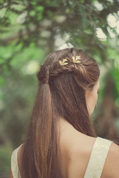 Gold Wedding Bobby Pins Wedding Hair Pins Wedding by EchoandLaurel