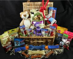 Exclusive Festive Quality Christmas Hamper For Dogs - Available in 3 sizes - Give your dog a fantastic Gift this Christmas with one of these Filled to the brim hampers (Small) @ Christmas Hamper, Christmas Gifts, Gift Hampers, Dog Stuff, Your Dog, Festive, Dogs, Xmas Gifts, Christmas Presents