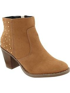 Women's Studded Ankle Boots | Old Navy