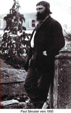 Paul Sérusier, Paris-born and, along with Paul Gauguin, an inspiration for the avant-garde Nabi movement. Pierre Bonnard, Pierre Auguste Renoir, Paul Gauguin, Maurice Denis, Edouard Vuillard, Painter Artist, Impressionist Paintings, Felix Vallotton, Avant Garde Artists