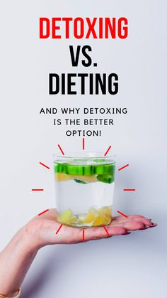Discover the differences between the two and why detoxing is a far better, more sustainable option.