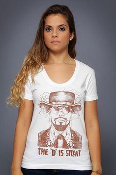 Camiseta Django Livre - Chico Rei http://chicorei.com/1382-django-livre.html