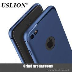 Colore della caramella sottile casse del telefono per apple iphone 7 6 6 s più Caso Molle di TPU Back Cover Capa Coque Fundas Per iPhone7 più
