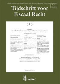 Tijdschrift voor fiscaal recht
