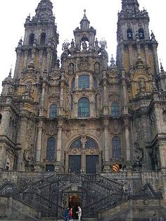 Santiago de Compostela is the capital city of Galicia, Spain, and one of the most important places in Catholicism because it is reputed to be the place where St. James, one of the twelve Apostles of Christ, is buried.