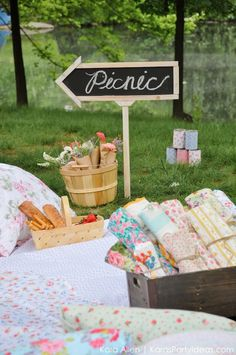 Picnic in the Park by Kara Allen | Kara's Party Ideas in NYC_-131
