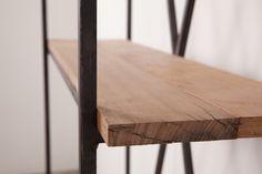Oak hardwook timber finish  Beautiful industrial design