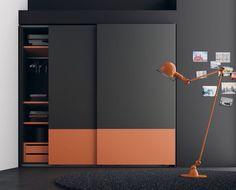 18 Ideas For Bedroom Wardrobe Design Storage Sliding Wardrobe Designs, Wardrobe Design Bedroom, Sliding Wardrobe Doors, Bedroom Bed Design, Bedroom Furniture Design, Modern Wardrobe, Closet Designs, Closet Bedroom, Bedroom Designs