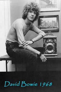 Remembering David Bowie in 1968