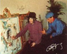 Antonio Blanco and Michael Jackson