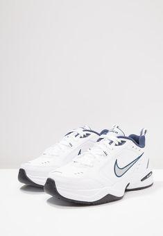 Dress With Sneakers, Air Max Sneakers, Sneakers Nike, Nike Sportswear, Nike Air Monarch, Metallic Look, Chunky Sneakers, Sports Brands, Dream Shoes