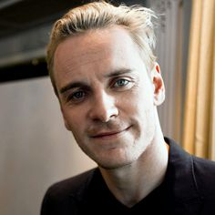 A softer side of Michael Fassbender. OML, he's always HOT, but when his hair is blonde...it makes my pulse race...even more! This picture also brings out my OCD side: I REALLY want to smooth the left side of his hair down, or mess the rest of it up...LOL, that just gave me a naughty thought... ;)
