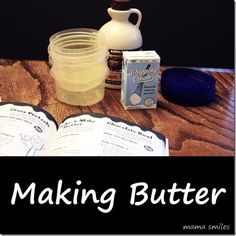 Make butter with your kids - it's fun, easy, and delicious science fun!