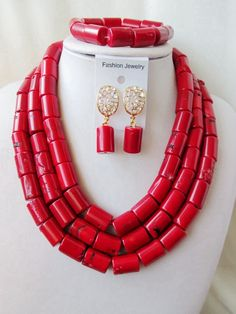 Find More Jewelry Sets Information about 2016 Fashion african coral beads jewelry set red nigerian wedding african beads jewelry Sets Free shipping P 4168,High Quality jewelry drama,China jewelry replicas Suppliers, Cheap jewelry amazon from Chinese jewelry import and export co., LTD on Aliexpress.com