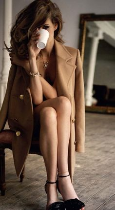 Camel coat.- classic and timeless #style!