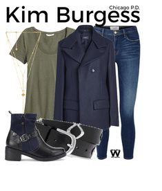 Inspired by Marina Squerciati as Kim Burgess on Chicago P. Discover outfit ideas for made with the shoplook outfit maker. How to wear ideas for Arya Lariat Necklace and Jersey Top - Green Chicago Pd, Chicago Fire, Tv Show Outfits, Girl Outfits, Fashion Tv, Fashion Outfits, Marina Squerciati, Chicago Outfit, Character Inspired Outfits