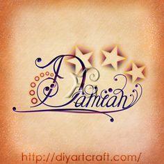 Damian #stars #tattoo