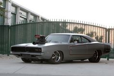 Pro Street 1970 Dodge Charger R/T http://www.musclecardefinition.com/