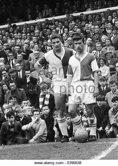 English League Division One match at Ewood Park. Blackburn Rovers 1 v Stoke City Blackburn winger Michael Harrison - Stock Image Blackburn Rovers Fc, Stoke City, School Football, Division, Old School, 1960s, England, Stock Photos, Park