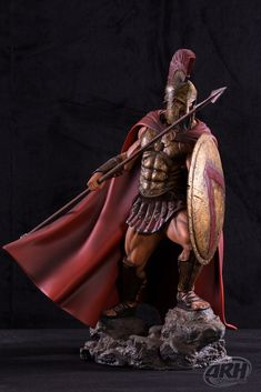 ARH Studios Leonidas Sparta, The Centurions, Ancient Greece, Greek Mythology, Medusa, Troy, Wonder Woman, Princess Zelda, Superhero