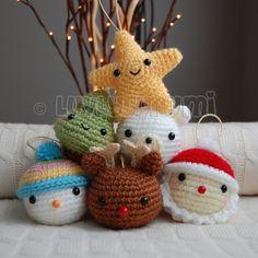 Christmas Friends Pattern