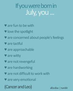 July Leo-All Zodiac